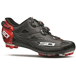 Sidi Tiger MTB Shoe Matte Black/Red