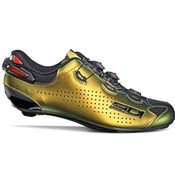 Sidi Shot 2 LTD Gold Silver Road Shoe