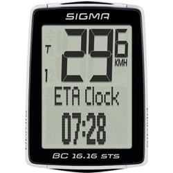Sigma BC 16.16 STS Wireless Cycling Computer with Cadence