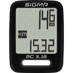 Sigma BC 5.16 Wired Cycling Computer
