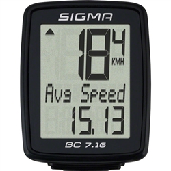 Sigma BC 7.16 Wired Cycling Computer