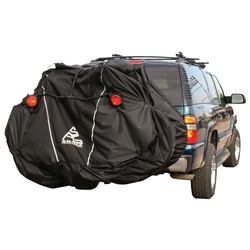 Skinz Hitch Rack Rear Transport Cover with Light Kit Large