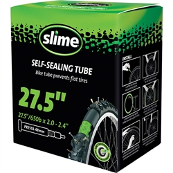"Slime Self-Sealing Tube 27.5"" x 2.0-2.4"", 32mm Presta Valve"