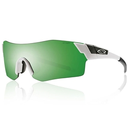 Smith Optics Pivlock Arena Matte White/Green Sol-X