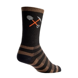 SockGuy Trail Maintenance Wool Crew Socks