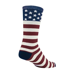 SockGuy USA Flag Wool Crew Socks