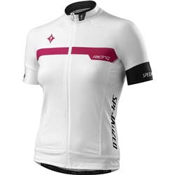 Specialized Womens SL Pro Jersey White/Pink