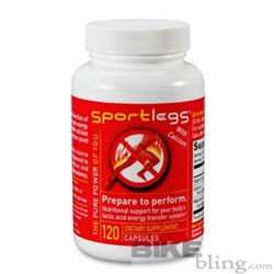 SportLegs Supplement Bottle 120 Capsules