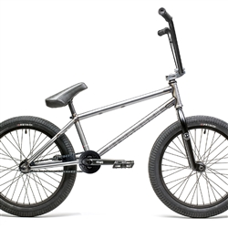 "Stranger Level Free Coaster 20.75"" BMX Bike Matte Raw"