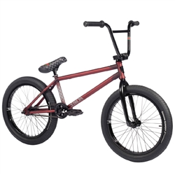 "Subrosa Novus 21"" Ray Signature Bike Matte Translucent Red"