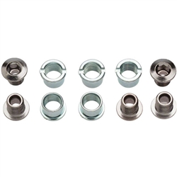 Sugino Double Steel 9mm Chainring Bolt Set of 5