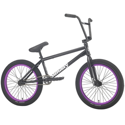 "Sunday Forecaster 20.75"" BMX Bike Gloss Black"