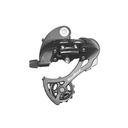 Sunrace M57 rear derailleur, long cage - black