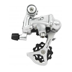 Sunrace RS1 9/10sp rear derailleur, short cage - silver