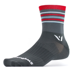 Swiftwick Aspire Four Gray/Red/Blue