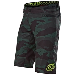 Troy Lee Designs Skyline Women's Camo Shorts w/Liner