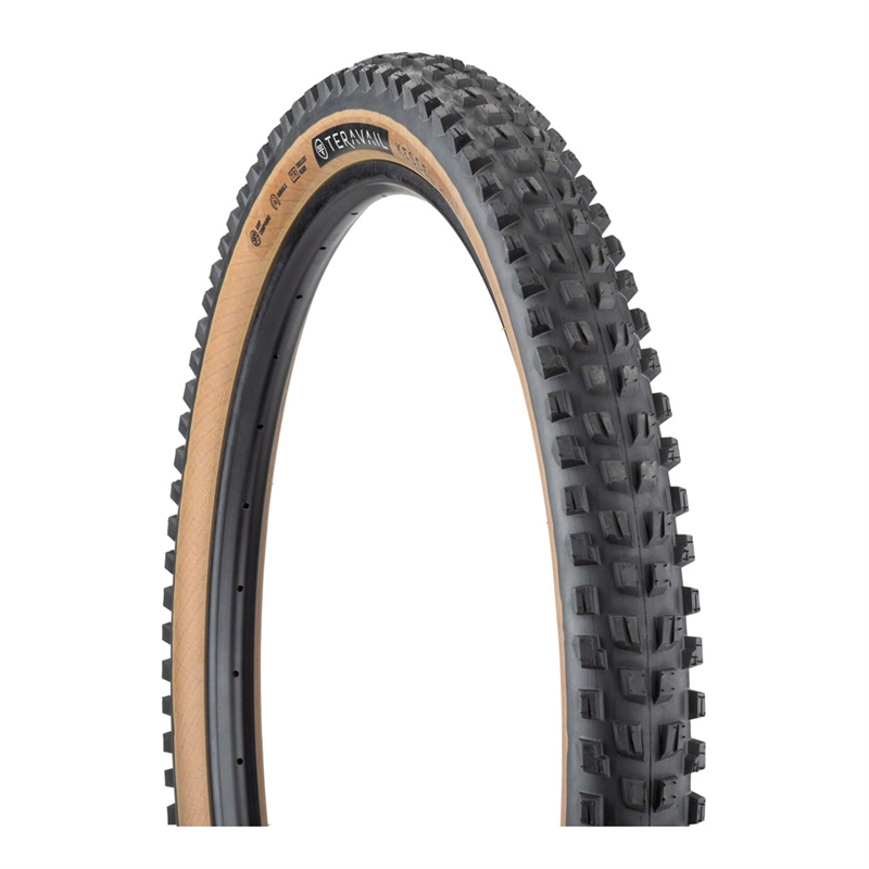 Teravail Kessel Tire 29 x 2.6 Tubeless Folding Tan Durable