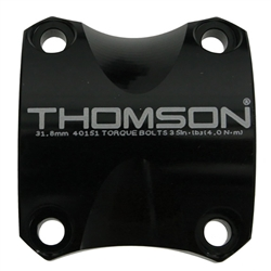 Thomson Stem Faceplate X4 31.8mm Black
