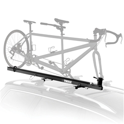 Thule 558P Tandem Carrier Roof Mount Upright Bike Rack