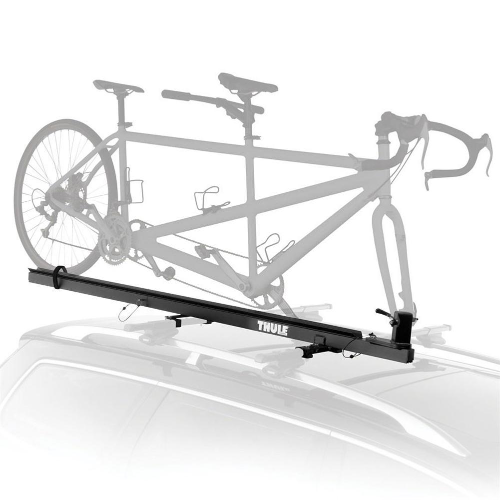 Thule 558P Tandem Carrier Roof Mount Upright Bike Rack