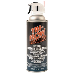 Tri-Flow Foaming Citrus Cleaner/Degreaser 14oz