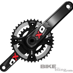 Truvativ X.0 GXP Carbon Crankset 2x10spd