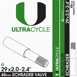 Ultra Cycle 29'' x 2.0-2.4'' Schrader Valve Tube