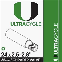 Ultracycle 24X2.5-2.8 Tube Schrader Valve