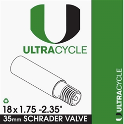 Ultracycle 18x1.75-2.35 Tube Schrader Valve