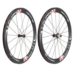 Vision Metron 55 clincher wheelset, 700c (S 9-11) F/R