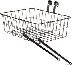 Wald #139 Front Basket with Adjustable Leg Gloss Black