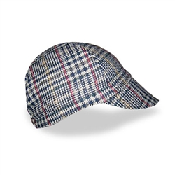 Walz Plaid Wool Cycling Cap