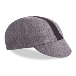 Walz Wool Cycling Cap Grey/Black Stripe