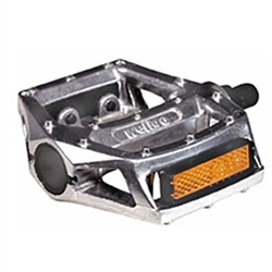 "Wellgo 313 1/2"" Pedals - Silver"