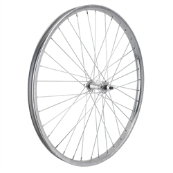 "Wheel Master 26"" Steel Cruiser/Comfort Front Wheel Chrome"