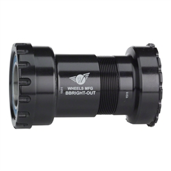 Wheels Manufacturing BBright Direct Fit to Shimano Bottom Bracket with ABEC-3