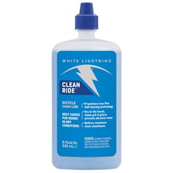 White Lightning Clean Ride Lube 8oz