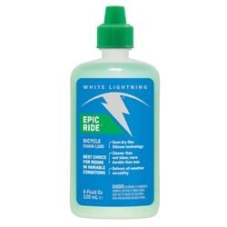 White Lightning Epic Ride Lube 4oz