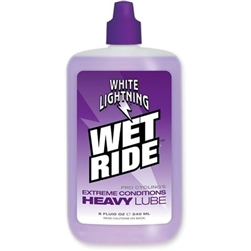 White Lightning Wet Ride Lube 4oz