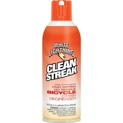 White Lightning Clean Streak Degreaser 14oz Aerosol