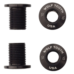 Wolf Tooth Components Single chainring bolts for threaded 104x30t, 4pc