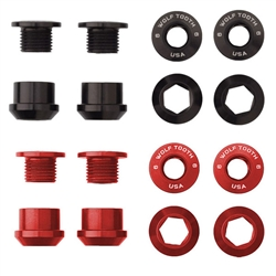 Wolf Tooth Components Single chainring bolt/nut set, 8pc