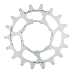 Wolf Tooth 16t Single Speed Stainless Steel Cog