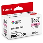 Canon PFI-1000 PM LUCIA PRO Photo Magenta Ink Tank (80ml)