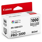 Canon PFI-1000 GY LUCIA PRO Gray Ink Tank (80ml)