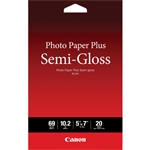 Canon SG-201 Photo Paper Plus Semi-Gloss (5 x 7in, 20 Sheets)