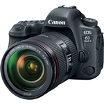 Canon EOS 6D Mark II DSLR Camera with EF 24-105mm f/4L IS II USM Lens