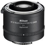 Nikon TC-20E III 2x Teleconverter for AF-S and AF-1 Lenses