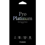 Canon PT-101 Pro Platinum Photo Paper 4x6 (50 sheets