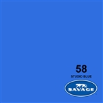 53in X 12yd STUDIO BLUE Background